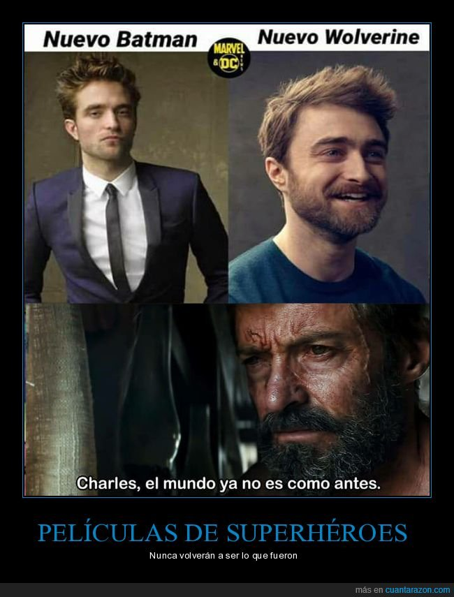 batman,daniel radcliffe,lobezno,robert pattinson