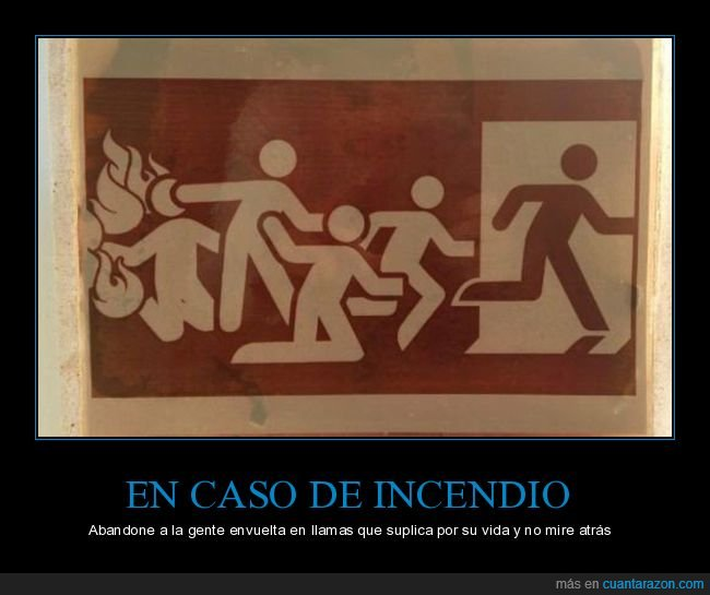 cartel,incendio