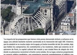Enlace a Propuestas ridículas para la restauración de Notre Dame