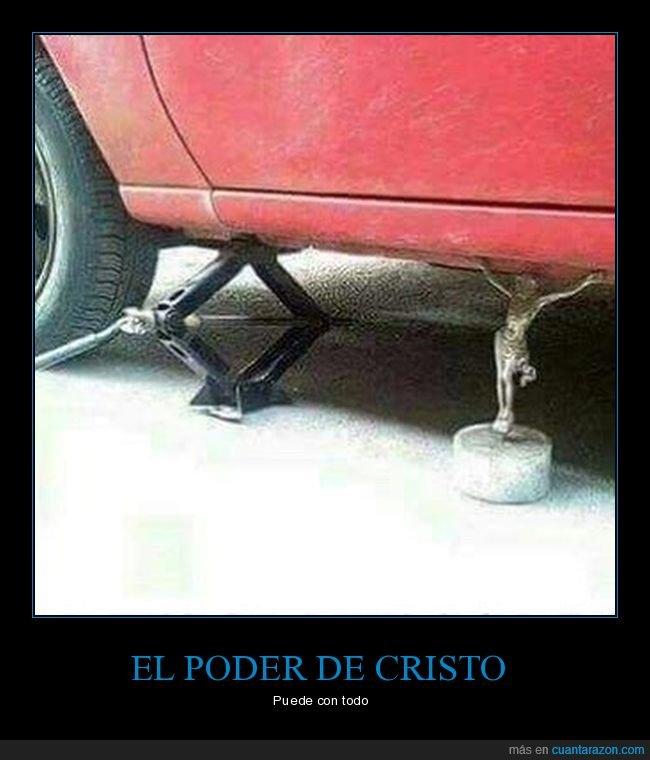 coche,cristo,gato,wtf
