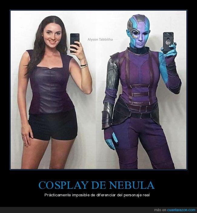 alyson tabbitha,cosplay,nebula