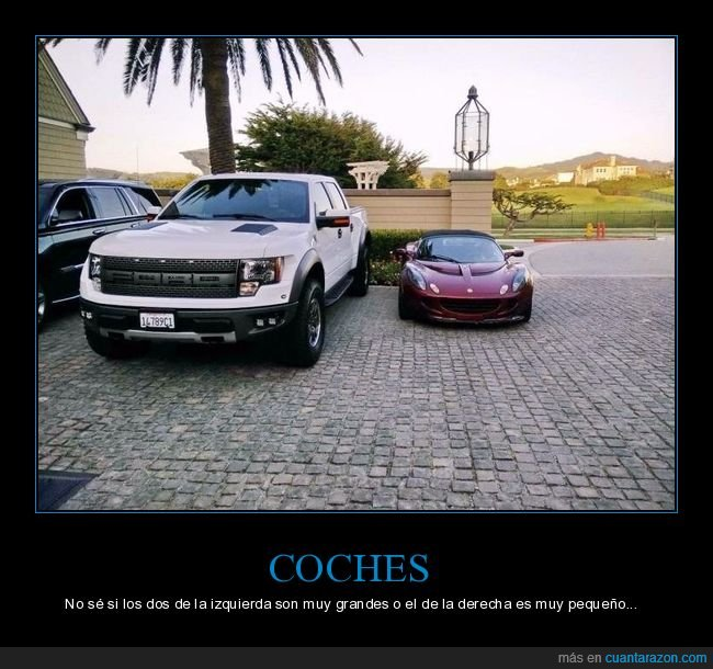 coches,tamaño,wtf