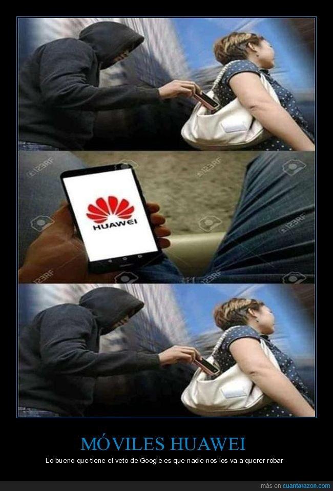 huawei,móvil,robando