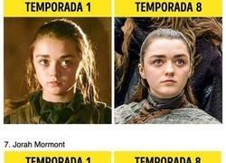"""Enlace a Así cambiaron los personajes de """"Juego de Tronos"""" en 8 temporadas"""
