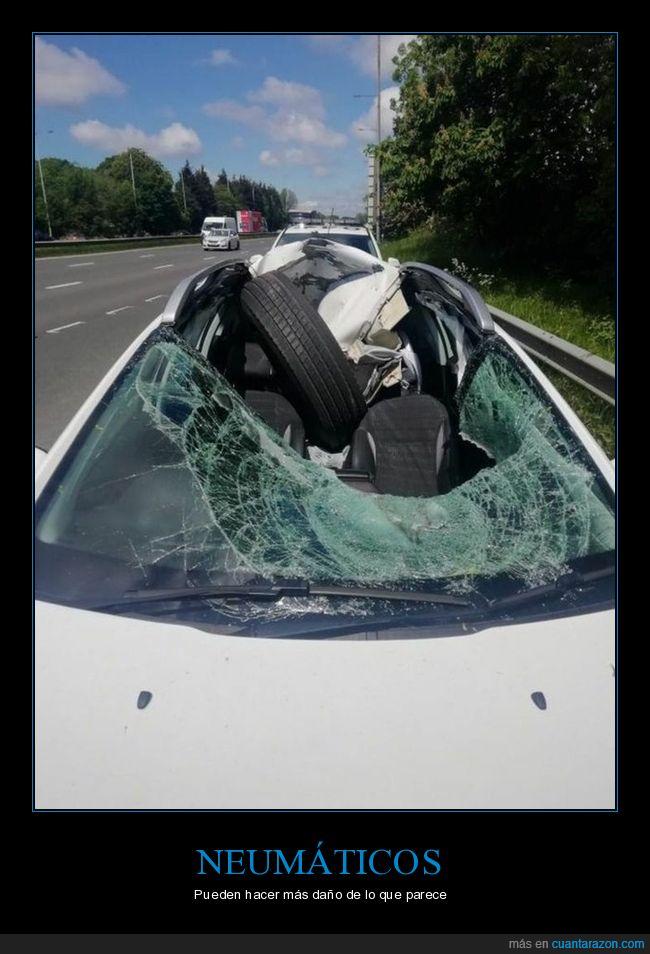 accidente,coche,fails,rueda