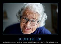 Enlace a Murió Judith Kerr, la gran escritora e ilustradora británica que escapó del nazismo