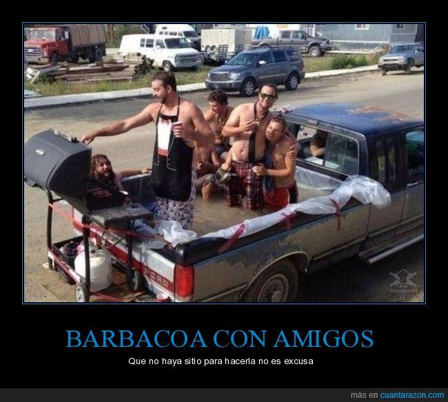barbacoa,coche,wtf