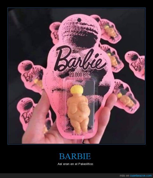 barbie,muñeca,paleolítico