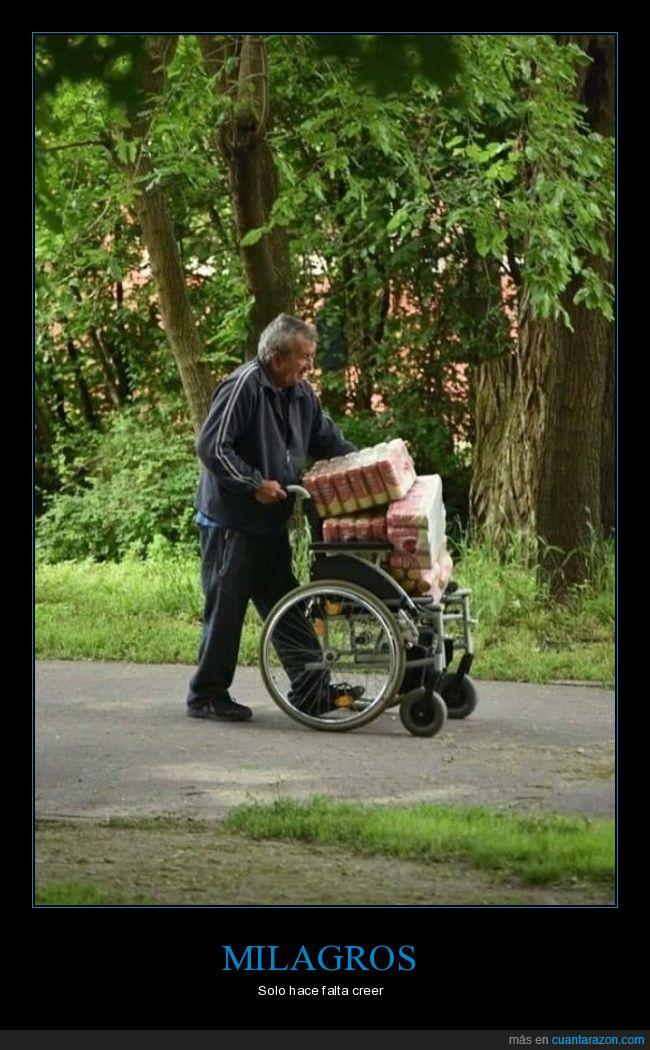 cerveza,silla de ruedas,wtf