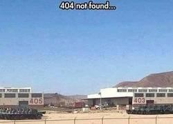 Enlace a Error 404: el origen.