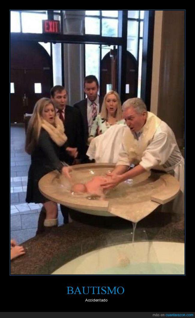 bautismo,bebé,fails