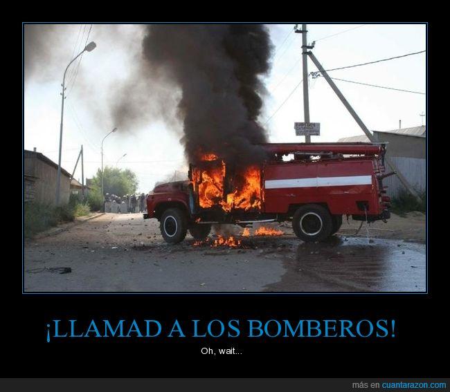 ardiendo,bomberos,fuego,wtf