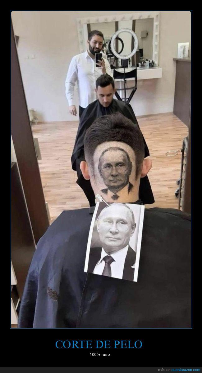 corte de pelo,políticos,putin,rusos