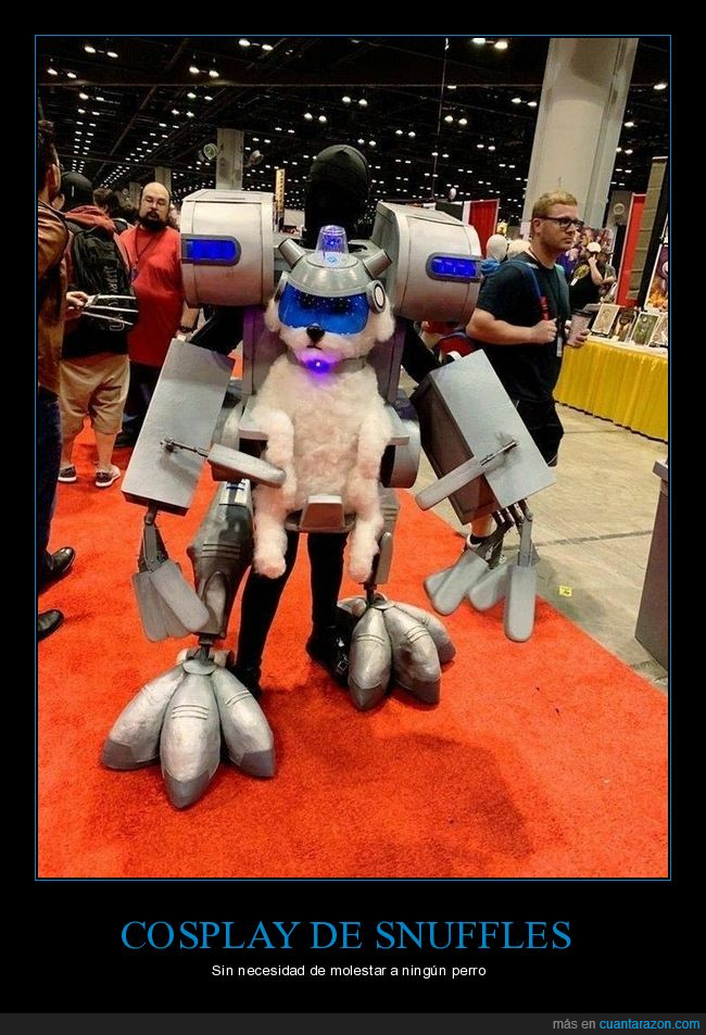 cosplay,rick y morty,snuffles