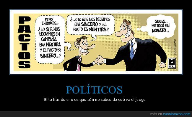 campaña,pactos,políticos,sincero