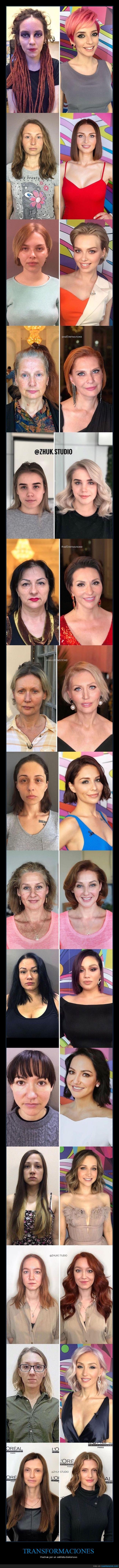 antes,después,estilista,transformaciones