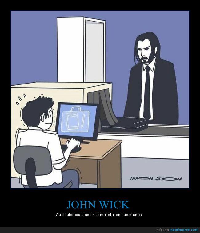 aeropuerto,john wick,lápiz,libro,rayos x