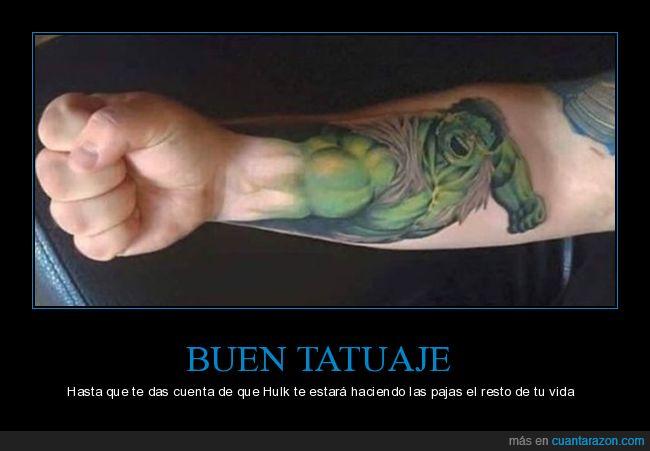brazo,hulk,tatuaje