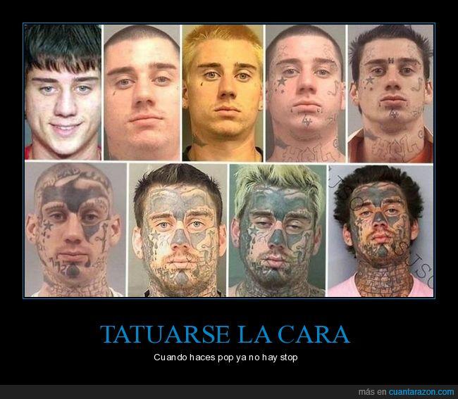 antes,cara,después,tatuajes