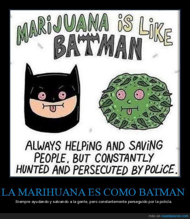 ayudando,batman,marihuana,perseguido,policía