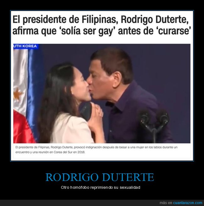curarse,filipinas,gay,políticos,rodrigo duterte