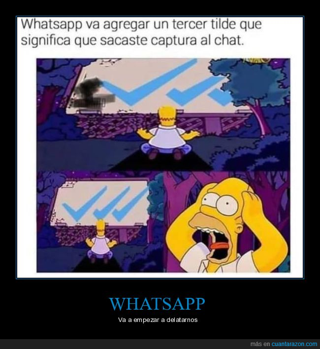 captura,simpsons,triple check,whatsapp