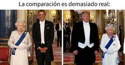 Enlace a Memes sobre la visita de Trump a Reino Unido