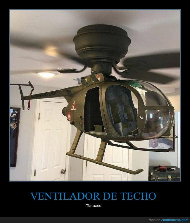 helicóptero,ventilador,wtf