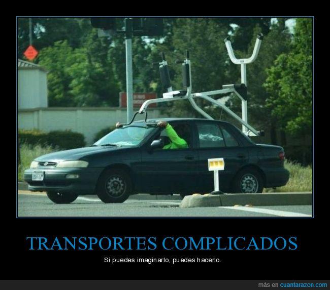 coche,transportando,wtf