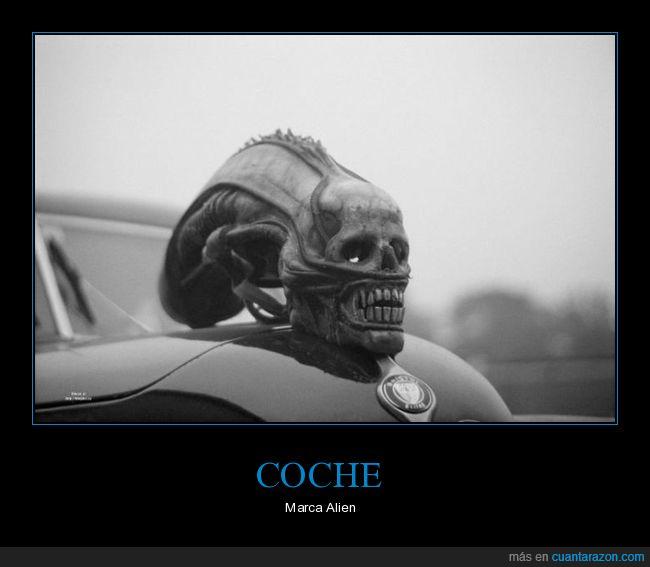 alien,cabeza,coche,emblema,wtf