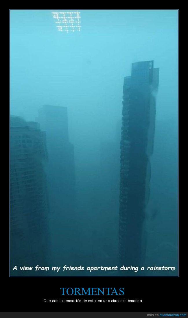 edificios,tormenta,wtf
