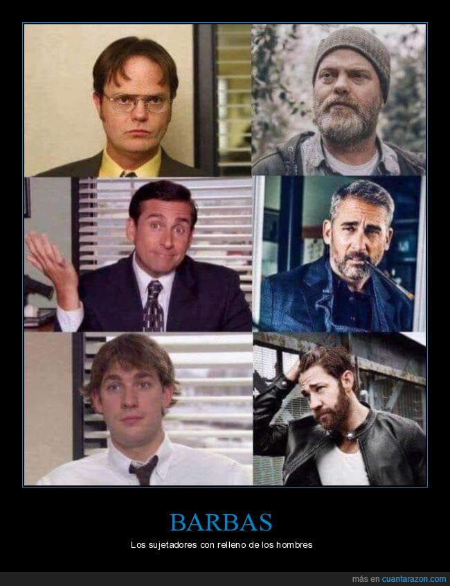 barba,the office