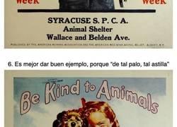 Enlace a Pósters de una campaña que promovía la bondad hacia los animales en la década de 1930