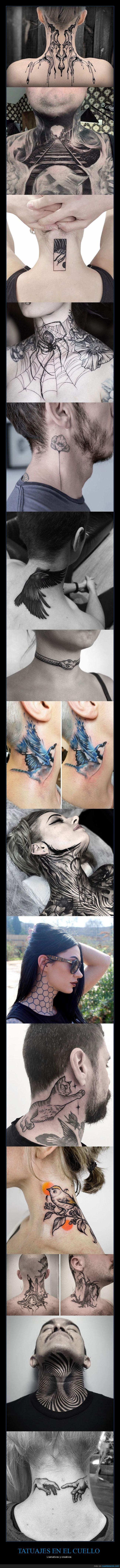 cuello,tatuajes