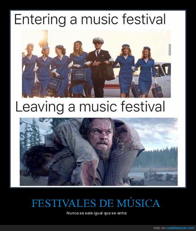 entrando,festival,saliendo