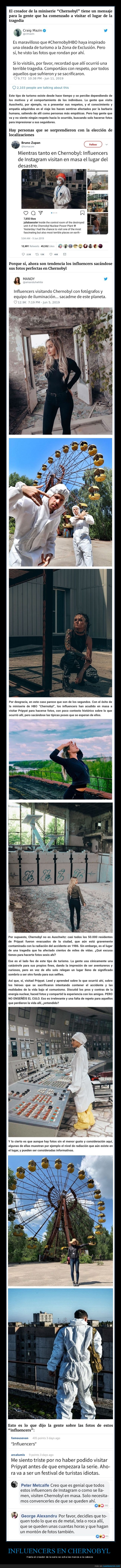 chernobyl,influencers,postureo