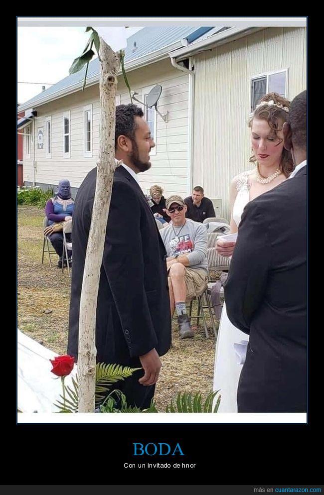 bodas,thanos,wtf