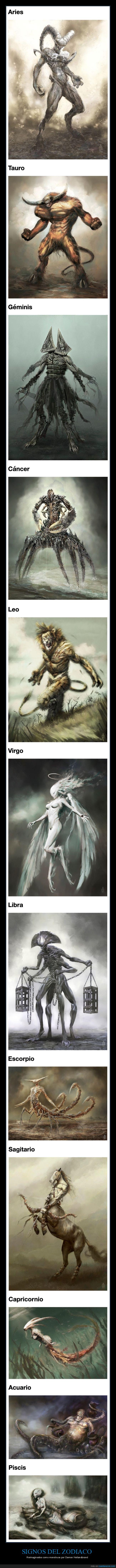 damon hellandbrand,monstruos,signos,zodiaco