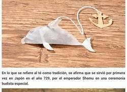 """Enlace a Esta compañía japonesa ha creado bolsas de té en forma de criaturas marinas que """"cobran vida"""" en tu taza"""