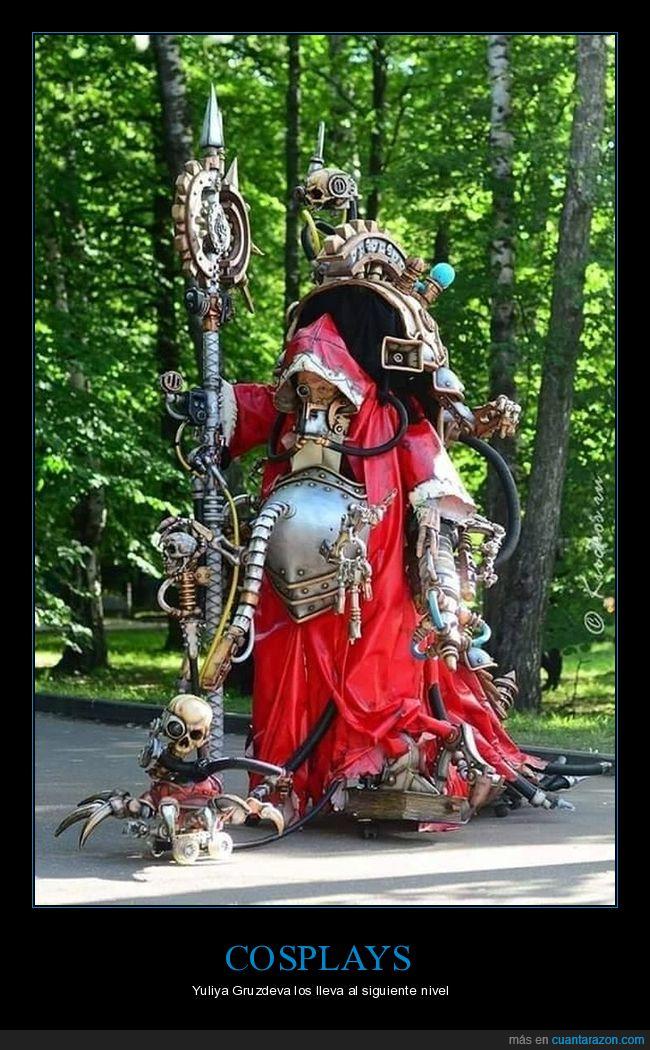 belisarius cawl,cosplay,warhammer 40000,yuliya gruzdeva