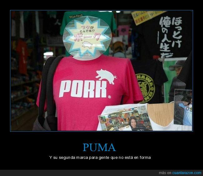 camiseta,pork,puma,wtf