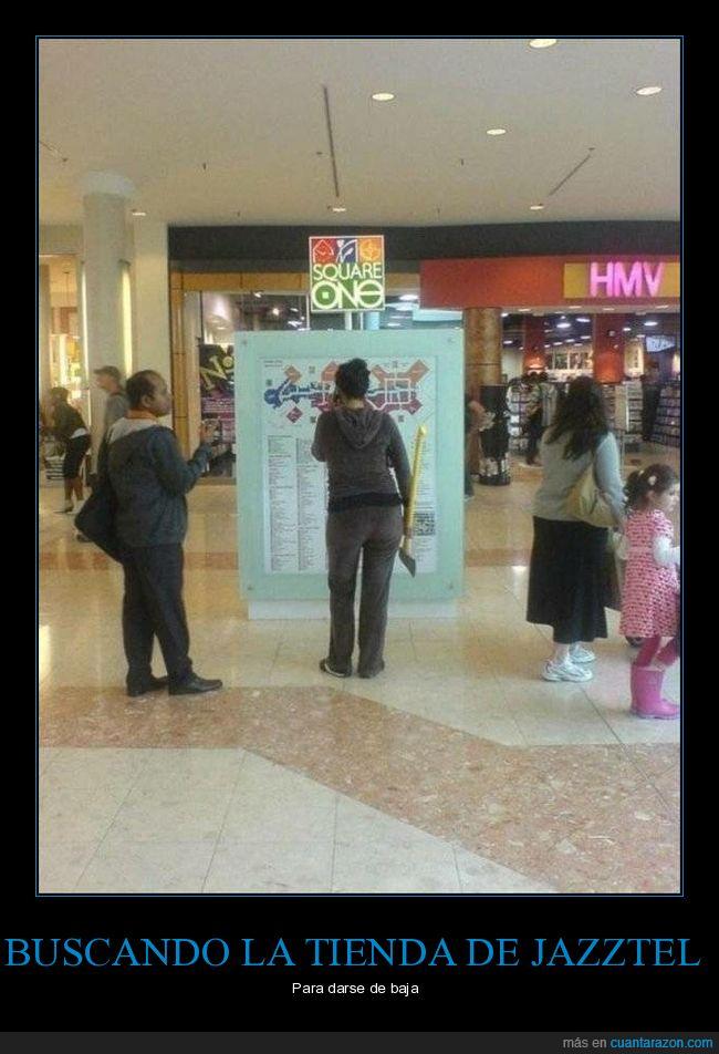 centro comercial,hacha,wtf