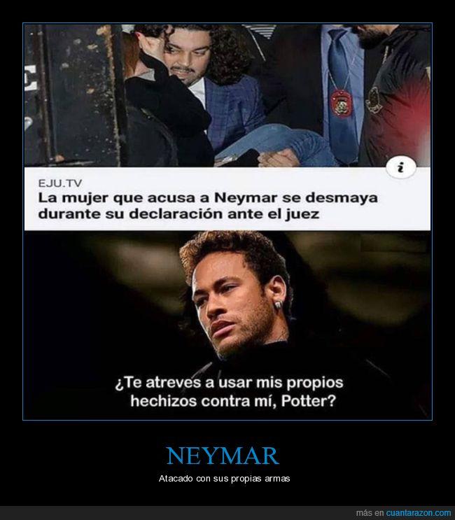 desmayo,juez,neymar