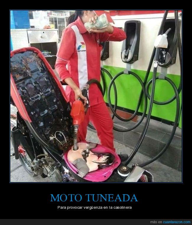 gasolinera,moto,wtf
