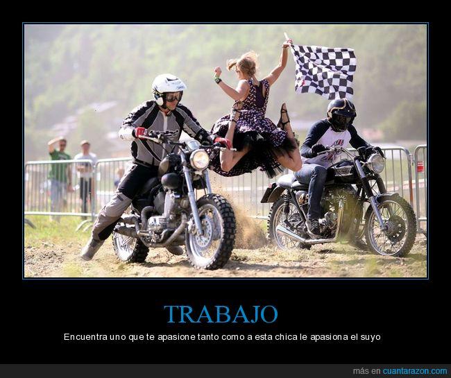 carrera,motos,pasión,salida,trabajo