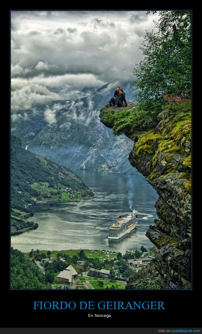 fiordo de geiranger,noruega,paisaje