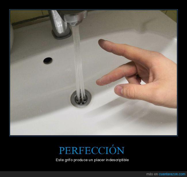 agua,grifo,perfección