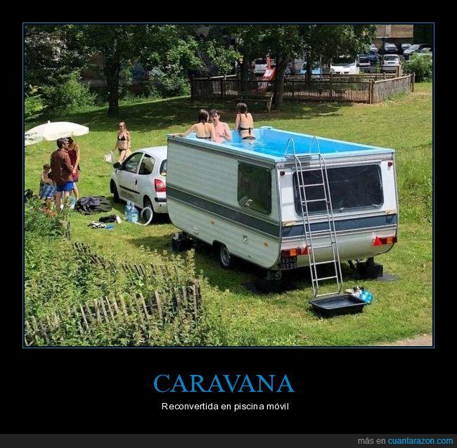 caravana,piscina,wtf