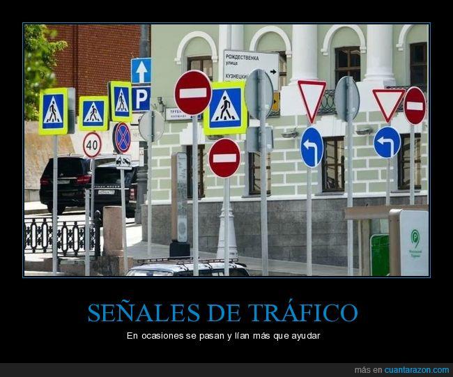 señales de tráfico,wtf