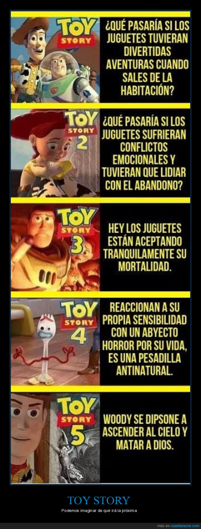secuelas,toy story